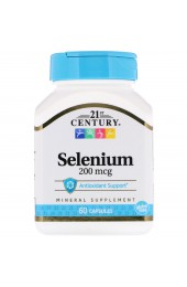 21st Century Selenium 200 мкг 60 капсул