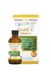 California Gold Nutrition C Gold Vitamin C Children's жидкий 118 мл