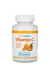 California Gold Nutrition Vitamin C апельсиновый 90 мармеладок