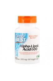 Doctor's Best Alpha Lipoic Acid 600 мг 60 капсул