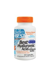 Doctor's Best Hyaluronic Acid with Chondroitin Sulfate 60 капсул
