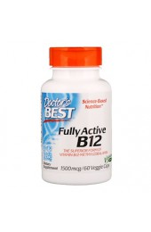 Doctor's Best B-12 1500 мкг 60 растительных капсул