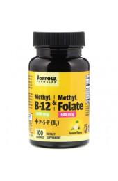 Jarrow Formulas Methyl B-12 & Folate 100 леденцов