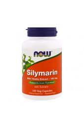 NOW Silymarin 150 мг 120 вегетарианских капсул