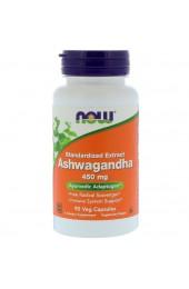 NOW Ashwagandha 450 мг 90 вегетарианских капсул