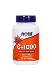 NOW C-1000 100 растительных капсул