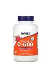 NOW C-500 100 жевательных таблеток