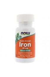 NOW Iron 36 мг 90 вегетарианских капсул