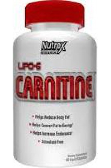 Nutrex Lipo-6 Carnitine 120 капсул