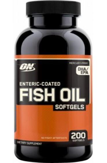 ON Fish Oil Softgels 200 капсул