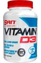 SAN Vitamin D3 180 капсул