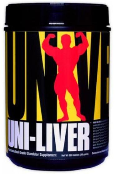 Universal Nutrition, Uni-Liver, сушеная пищевая добавка для здоровья печени, 250 таблеток В НАЛИЧИИ